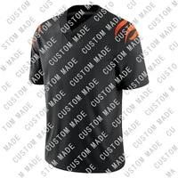 custom mens american football cincinnati stitch joe burrow jamarr joe mixon tee higgins team jerseys