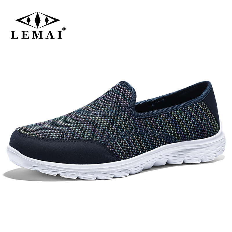LEMAI 35-42 Women's Casual Flats Shoes Comfortable Soft Fashion Outdoor Slip-On Sports Shoes Walking Footwear Casual Loafers