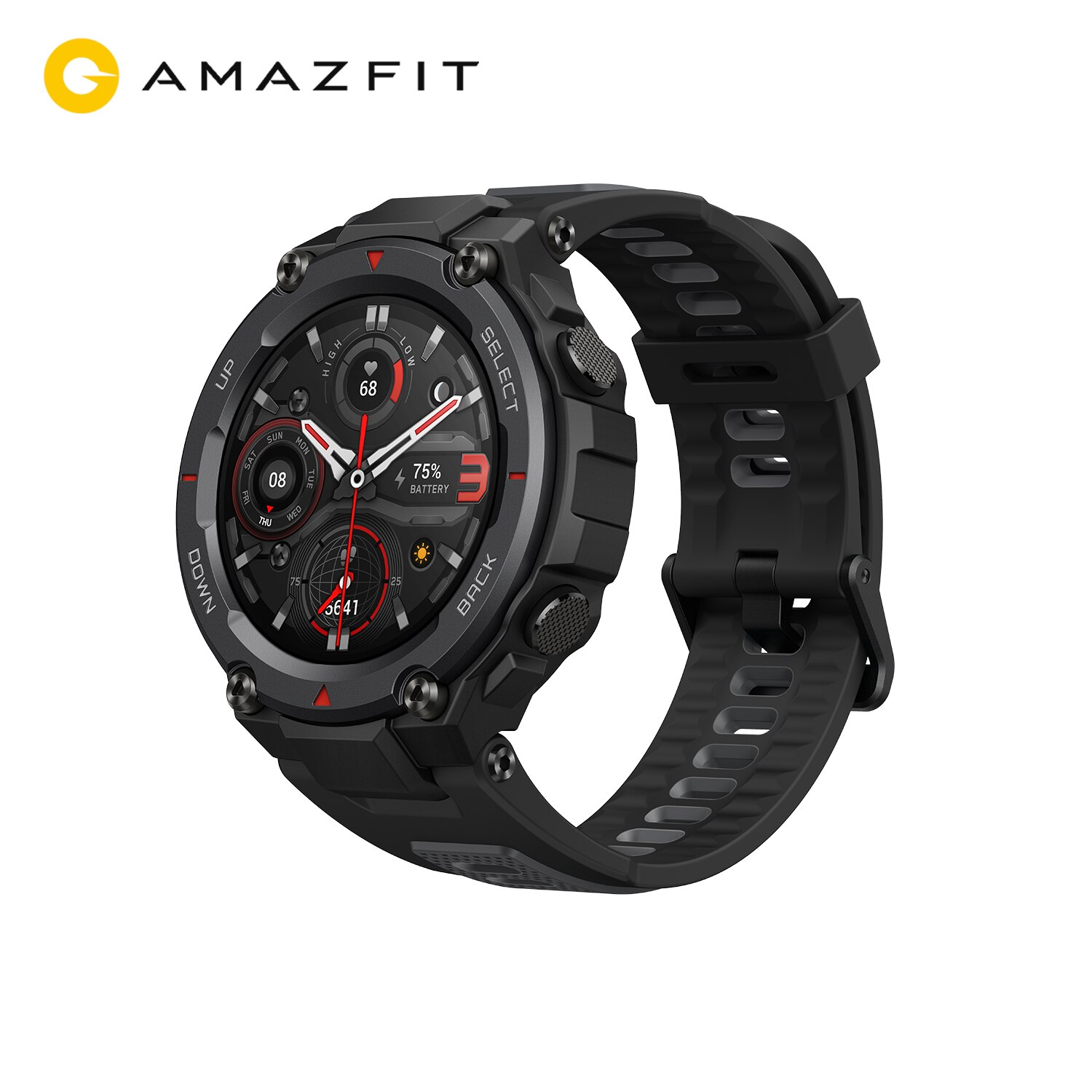 Review Amazfit T-rex Trex Pro T Rex GPS Waterproof Smartwatch Outdoor 18-day Battery Life 390mAh Smart Watch For Android iOS Phone