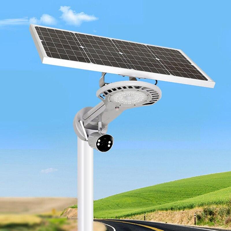 Foco-مصباح led يعمل بالطاقة الشمسية مع مستشعر أمان ، إضاءة خارجية مزخرفة ، مثالي للبستنة ، 50 وات