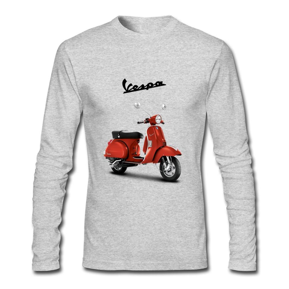 Camiseta de moda de marca, camiseta de manga larga para hombre estilo clásico indio con águila y motocicleta, camiseta de metales pesados, Collar para hombre PSG