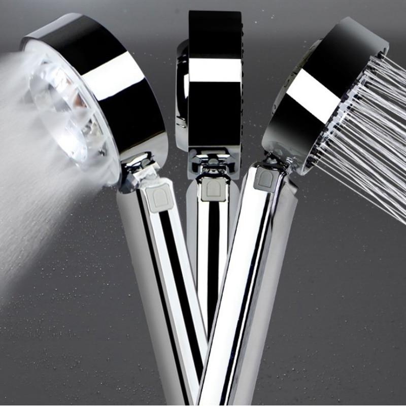 Głowica prysznicowa prysznic z hydromasażem dwustronny ogranicznik wody funkcje głowica prysznicowa SPA Spray ciśnieniowy ręczne akcesoria łazienkowe