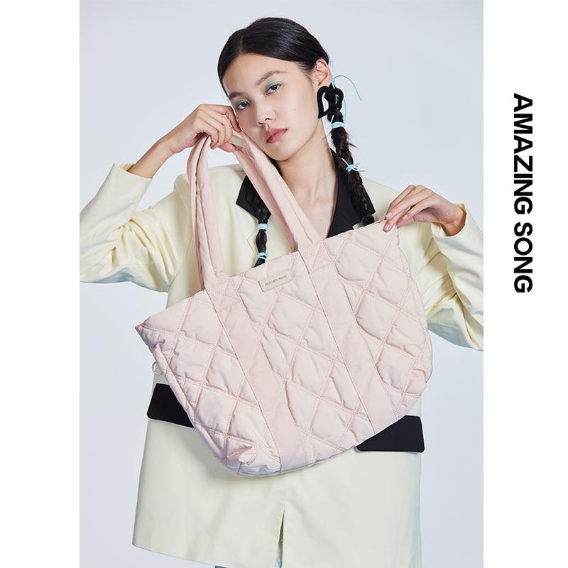 مذهلة أغنية حمل حقيبة 2021 منتج جديد أسفل حقيبة الإناث سعة كبيرة الخريف/الشتاء OL الركاب المتخصصة حقيبة كتف