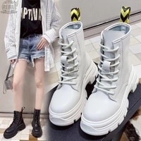 shoes women anklet boots round toe thick sole comfortable platform snow boots for woman winter female keep warm bottes femme