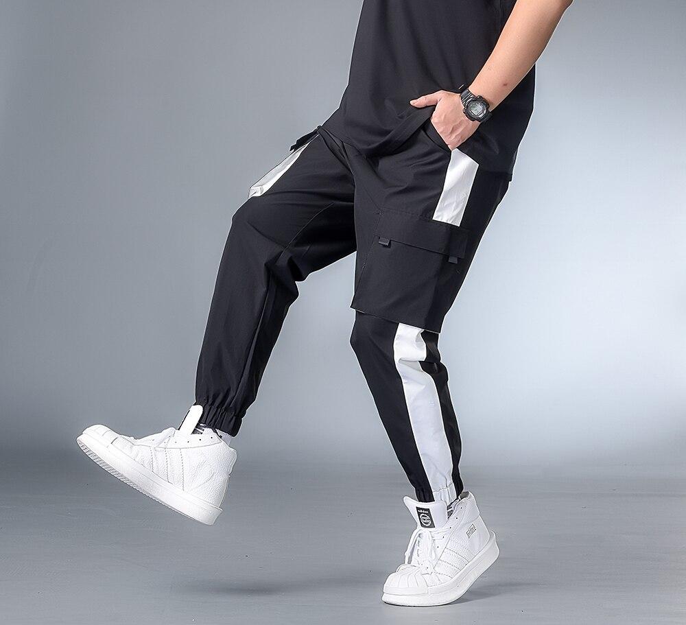 7XL 6XL 5XL XXXXL Плюс 2020 мужские хип-хоп брюки уличные спортивные штаны Hombre мужские повседневные Модные брюки-карго для мужчин Jogger