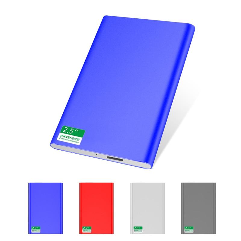 USB3.0 thin metal external hard disk drive 160G 120G disco duro externo 80G HDD usb original storage device cute usb flash drive