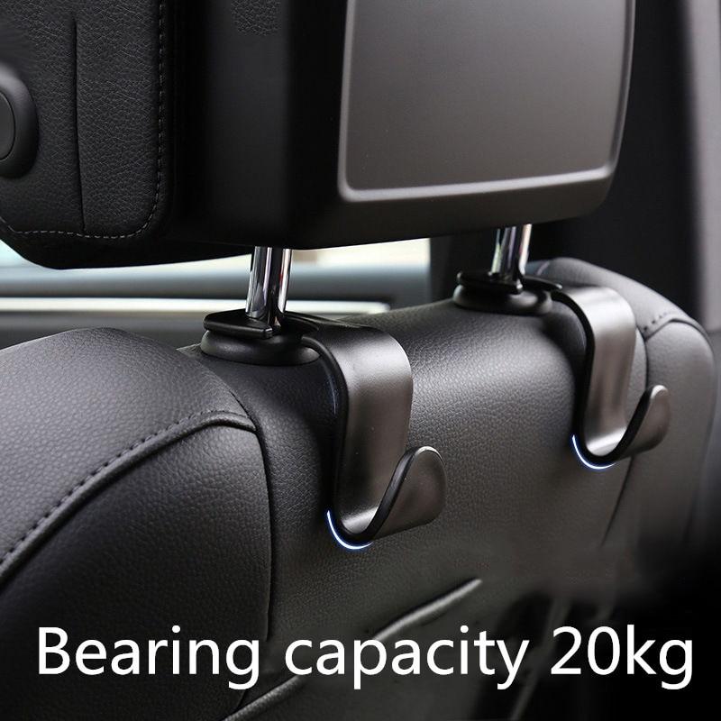 Clips de gancho de asiento para el coche percha para Auto para Mitsubishi Asx Lancer 10 9 Outlander 2013 Pajero Sport L200 Expo Eclipse huelguistas accesorio