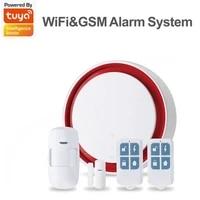 Kit systeme dalarme de securite domestique sans fil  GSM carte SIM  anti-cambriolage