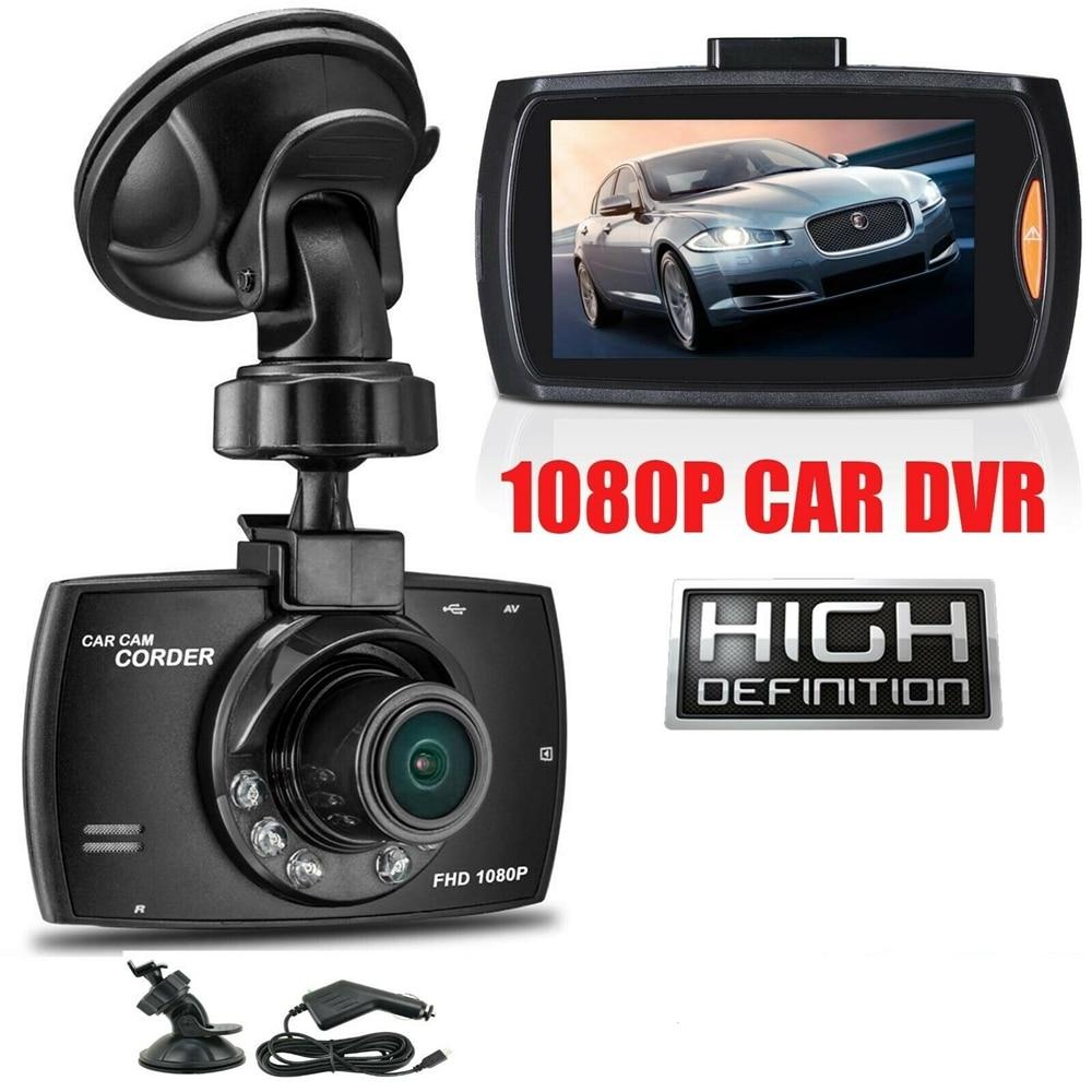 Автомобильный видеорегистратор G30, 1080P, 140 °, с датчиком движения и поддержкой TF-карты