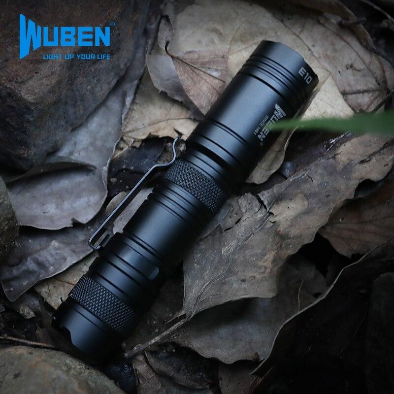 Outdoor Glare Flashlight Mini Portable Pocket Clip Flashlight 1200 Lumens Self Defense Camping Lanterna Portable Lighting EB50SD enlarge