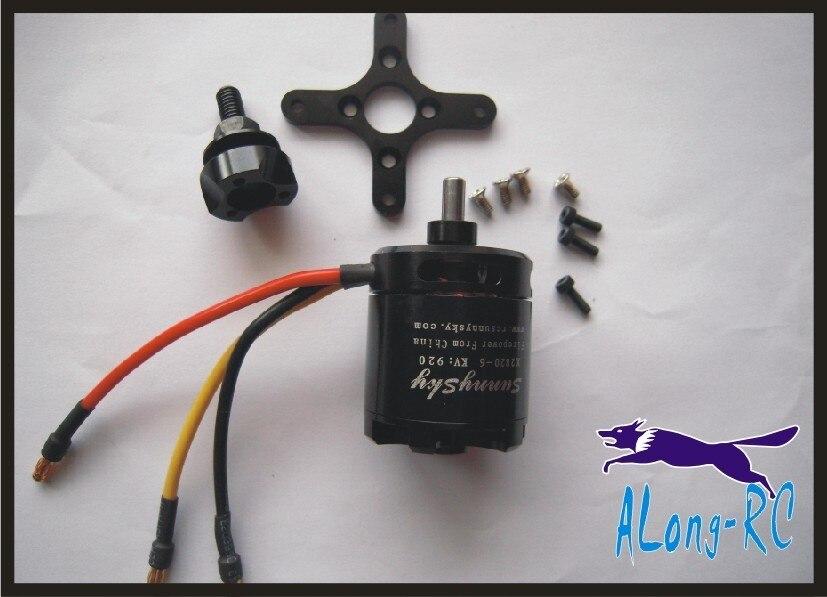 Envío Gratis SunnySky X2820 800KV/920KV 1100KV Motor sin escobillas 3KG PULL para 30E F3A F3D modelo de Avión RC fijo ala Drone