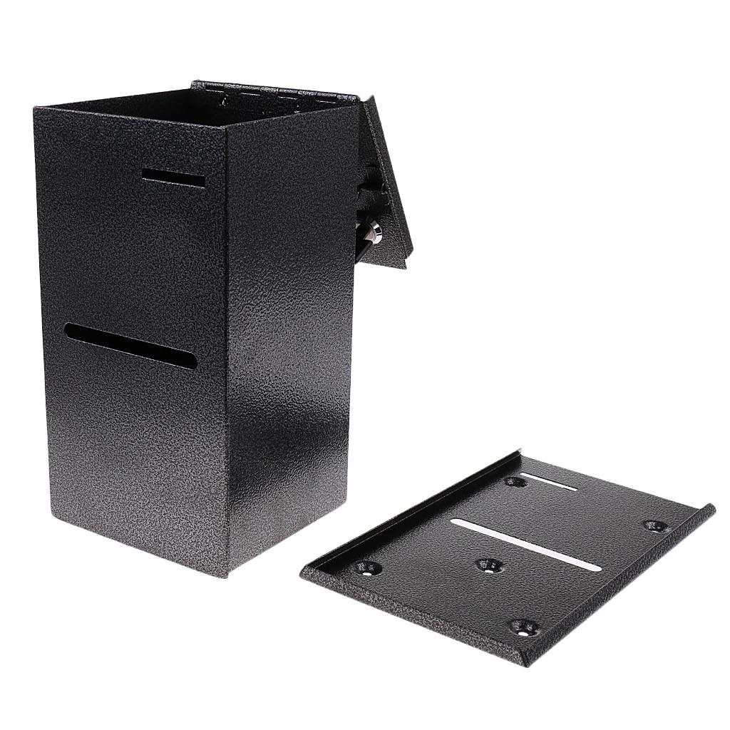 Покерный стол с двойной блокировкой в домашнем стиле, коробка для хранения чипов от продавцов казино, коробка для хранения денег-2