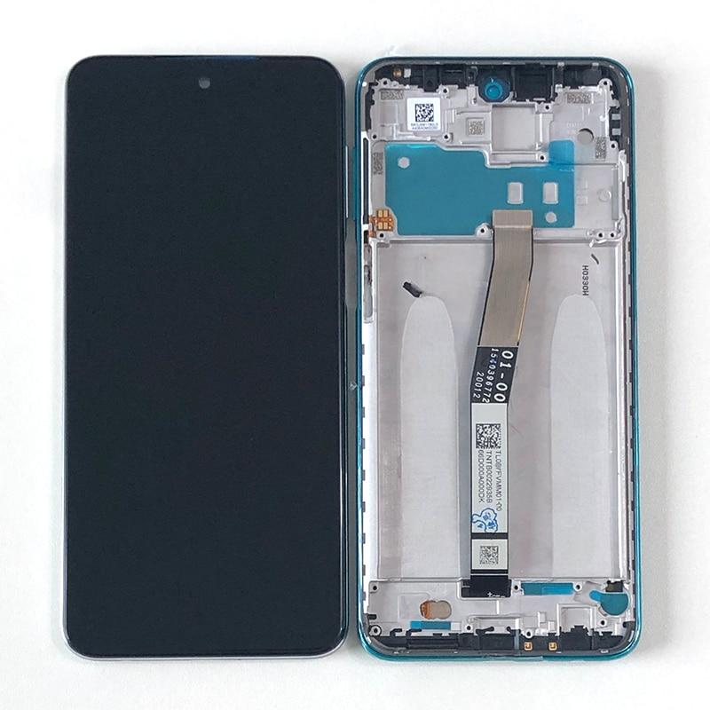 M & Sen-شاشة هاتف شاومي, شاشة LCD أصلية 6.67 بوصة لأجهزة Xiaomi Redmi Note 9S شاشة لمس رقمية مع إطار لهاتف Redmi Note 9 Pro Max/9Pro