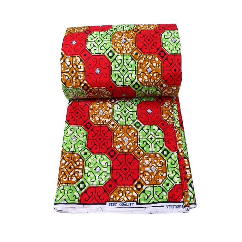 Nigeria wax prints Fabric Ghana 100% Cotton Ankara Wax High Quality Real african fabric print style
