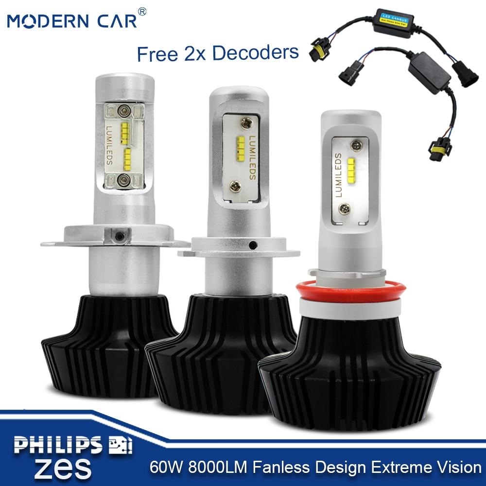1 juego * suministro de fábrica 23w 12v H4 sistema de iluminación LED para coche M8P bombillas led proyector faro para remolque de coche