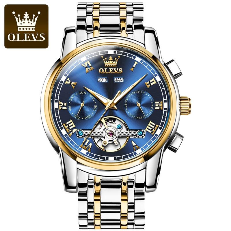 Fashion watch multifunctional automatic mechanical watch watch men's men's watch trend