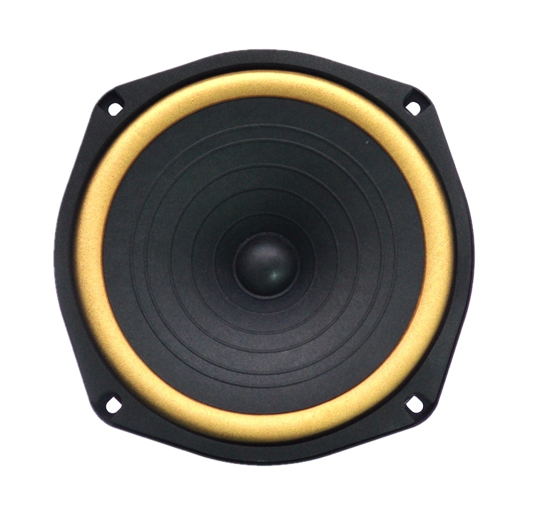 1 Pieces Correct DG-601 6.5'' Full Frequency Speaker Driver Unit Referrence to Diatone P-610S Leather Suspension 4/8ohm 25W Max enlarge