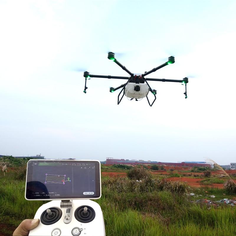Protección de plantas agrícolas a gran escala 16L agrícola antipesticida vuelo especial antimalezas pesticida anti-hambruna