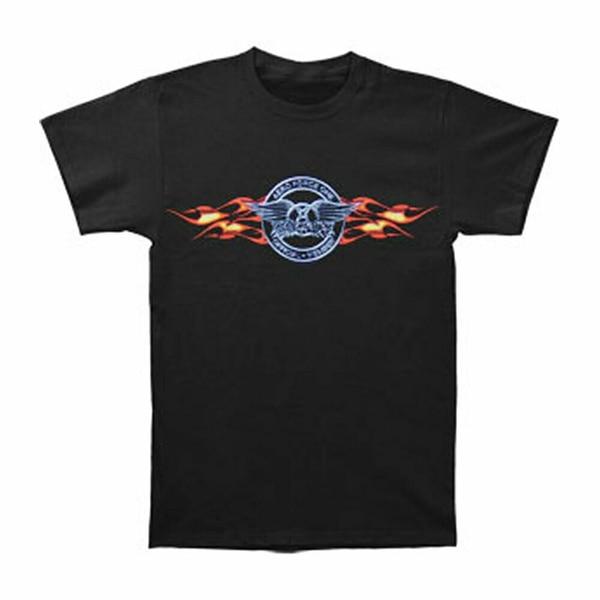 Aerosmith Men's Official Member T-shirt Small Black