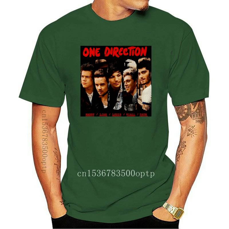 New Foshion Women's T-Shirt Women Printed T-shirt One Direction Brush Stroke Girls Tshirt Women's Personolity T-shirt