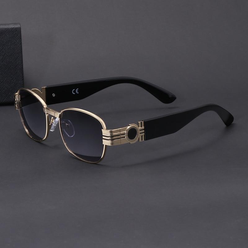 Солнцезащитные очки в стиле стимпанк мужские модные маленькие брендовые дизайнерские очки мужские спортивные солнцезащитные очки для вож...