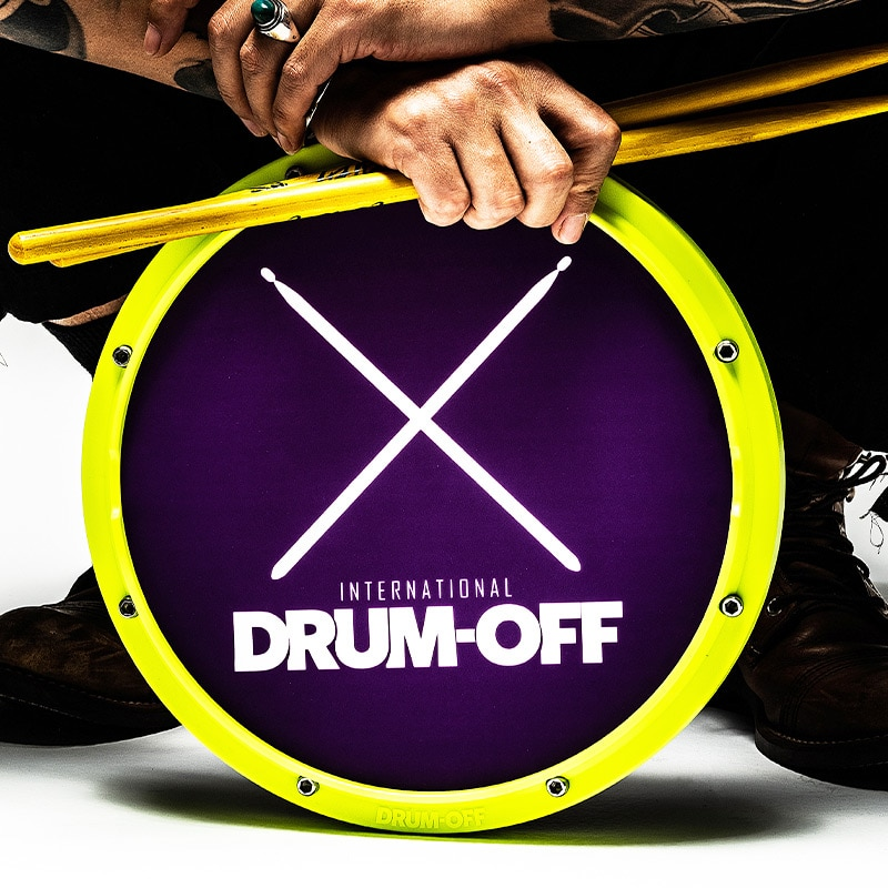 Drum-OFF 12 Inch Dumb Drum for Beginner Practice Training Rubber Drum for Percussion Instruments 10pcs bass snare drum sound off mute silencer drumming rubber practice pad set professional dropshipping