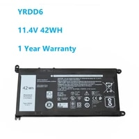 11 4v 42wh yrdd6 battery for dell inspiron 5482 5480 5481 5485 5491 5591 5593 3583 3310 2 in 1 3493 3582 3593 3793 5584 5493