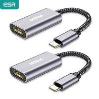 Переходник ESR с USB Type C на HDMI, совместимый с USB 3,1 USB-C на HDMI, конвертер видеоадаптера для MacBook Air для Samsung