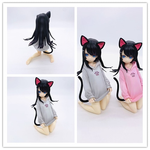 ¡Figura sexy de animé Oreja de Gato chicas OCHI LIPKA Ripuka Ver! Cohete chico PVC figura Anime modelo juguete chico regalo 16cm
