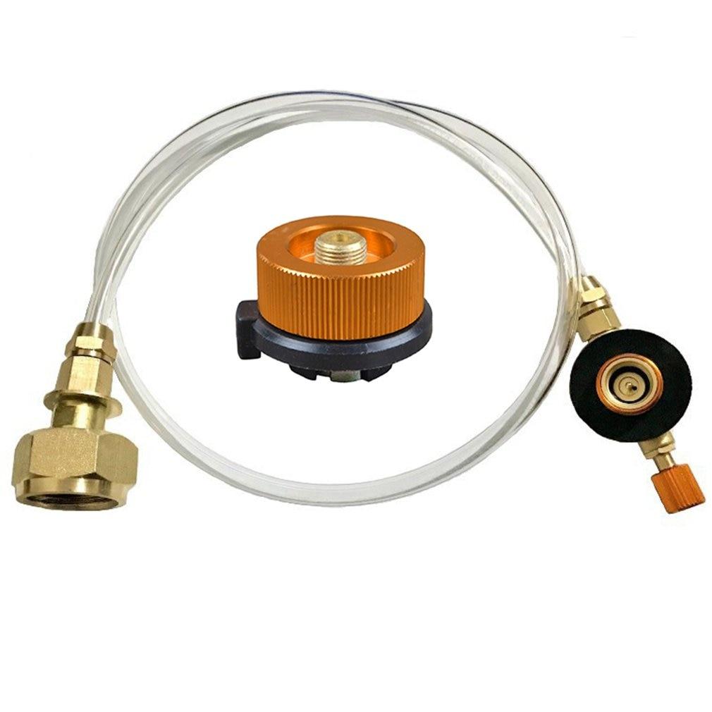 Открытый Адаптер газовой плиты газовые плоский бак газ круглый соединитель газа зарядных устройств набор для лагеря