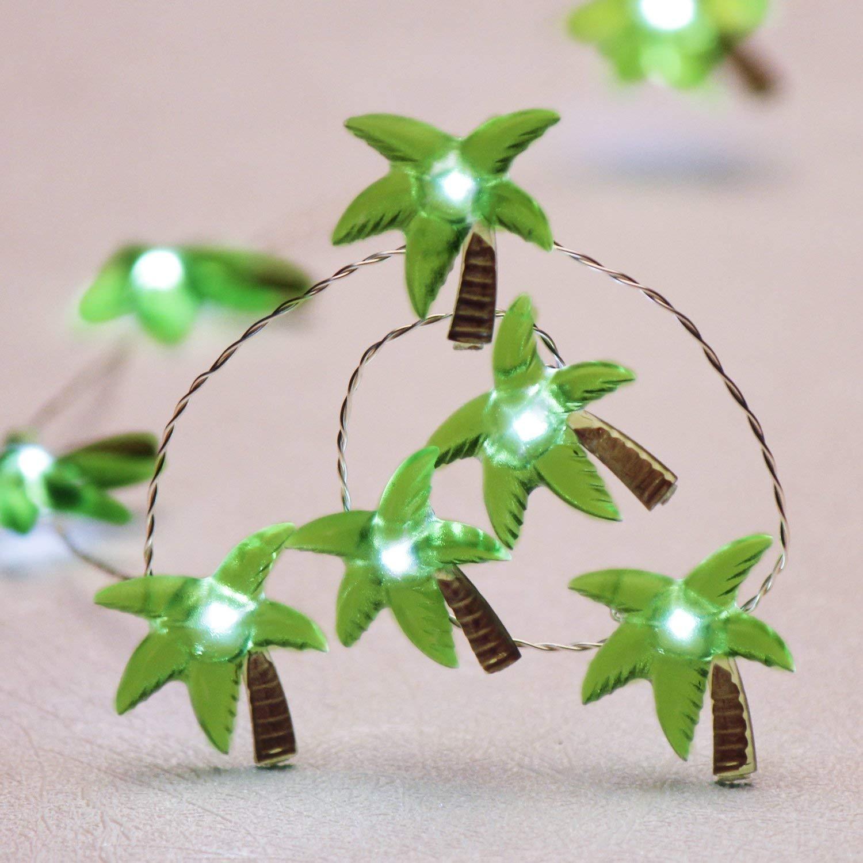 Guirlande lumineuse thème de plage   Éclairage en fil dargent, 10ft, 40 °, pour véranda, jardin, maison fête de mariage