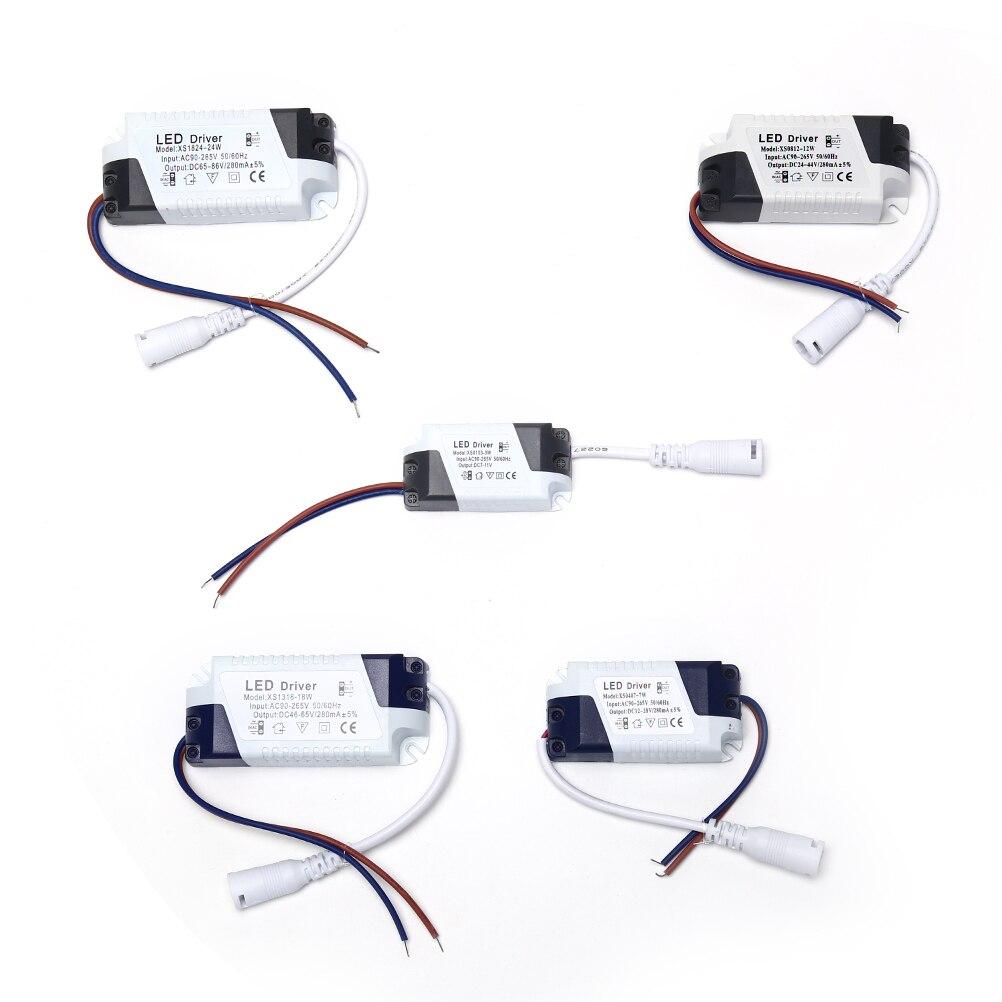 1PC 1-3W/4-7W/8-12W/12-18W/18-24W Neue Transformator Led-treiber Netzteil LED Licht Lampe Fahrer Hohe Qualität