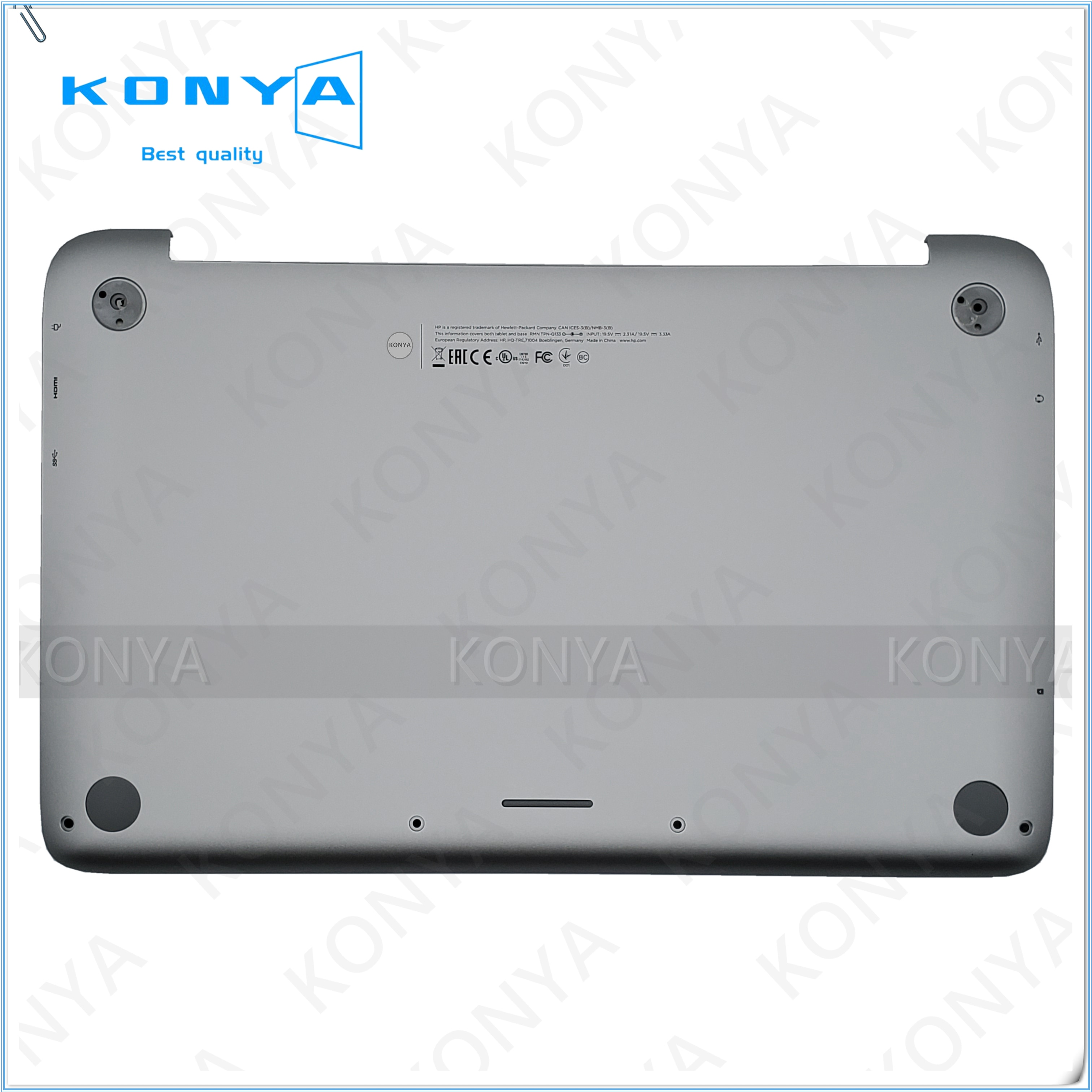 Novo Para HP Dividir X2 13-M 13-m002tu Laptop Inferior Caso Tampa Da Base Inferior EAW07004010 EAW05007010
