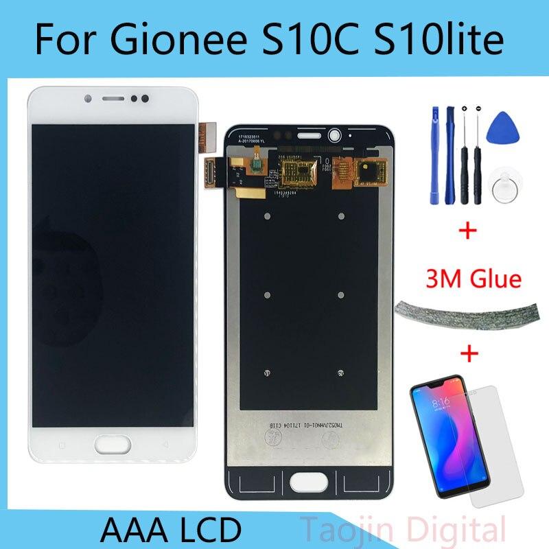 100% probado Blanco/Negro 5,2 pulgadas para GiONEE Elife S10 Lite S10C S10CL pantalla LCD + MONTAJE DE digitalizador con pantalla táctil herramientas gratis