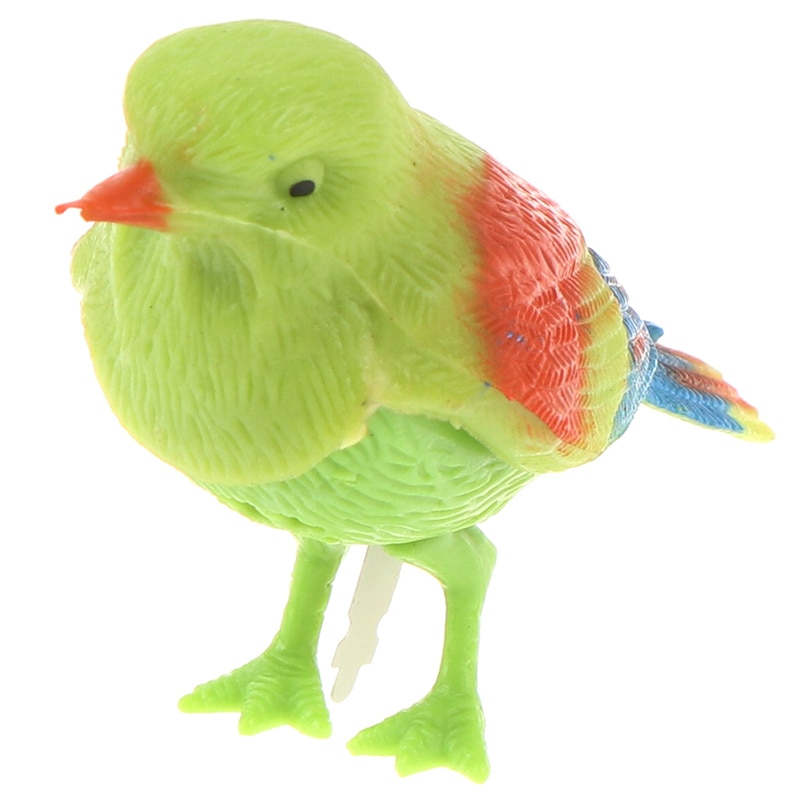 Funny Electronic Pet Cage Decoration Toys Morning Bird Voice Control Music Bird Toy Simulation Cute