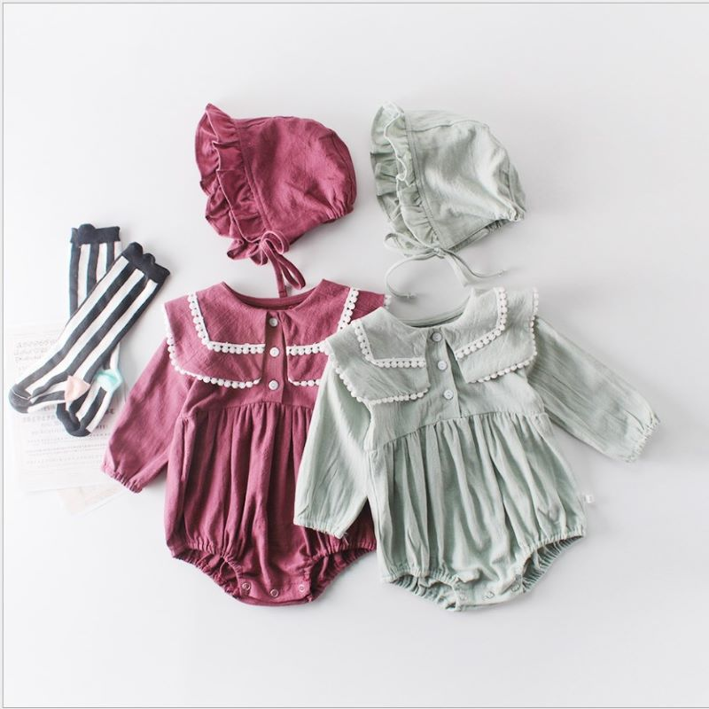 Baby girls Clothes Spring Baby Girl Romper Princess Newborn Baby Long Sleeve Jumpsuit Baby Girl Clothes Infant Onesie Costume cotton newborn baby girl romper ruffle sleeve baby rompers winter baby girls clothes toddler girl romper infant jumpsuit p35