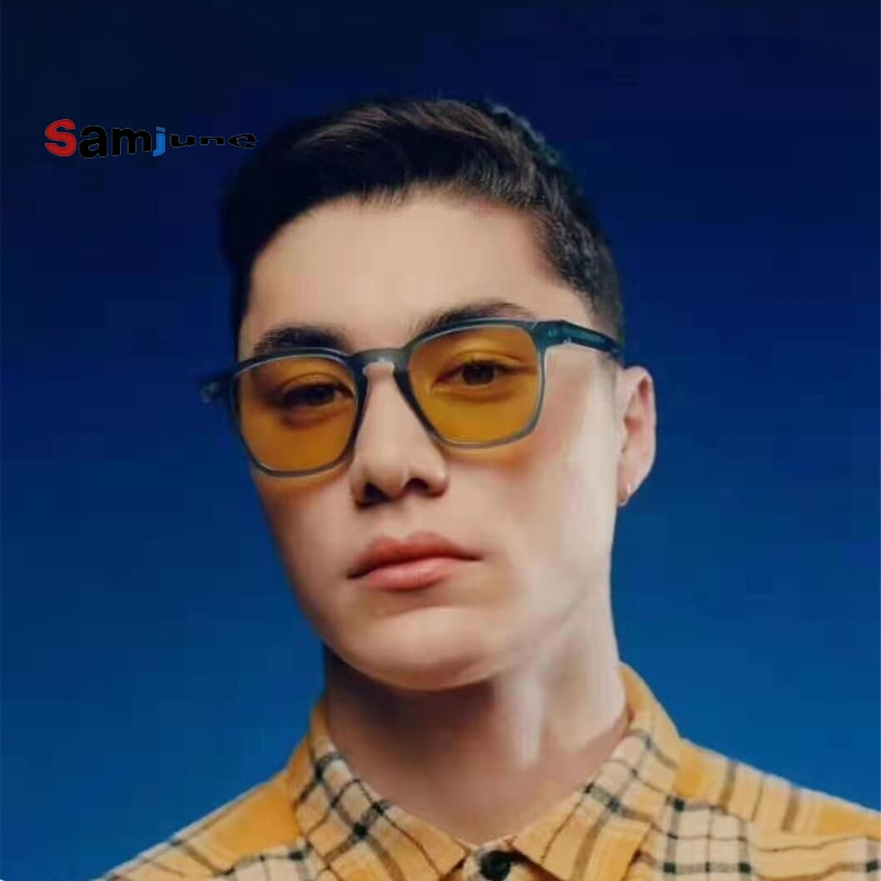 Samjune Classic Sunglasses Men Women Brand Designer Fashion Wayfaring Sun Glasses