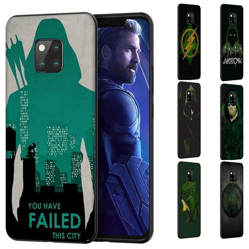 Mobile Phone Case For Huawei P20 Pro P30 Lite Pro P20 Lite 2018 2019 P Smart Z 2018 2019 Plus American Tv Series Green Arrow