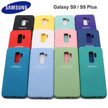 Samsung Galaxy S9 Plus High Quality Liquid Silicone Case Silky Soft-Touch Back Cover For Galaxy S 9/S9 Plus/S9+ Phone Shell