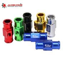 Alconstar- 1Pc 18mm 22mm Motorcycle Water Temp Temperature Joint Pipe Sensor Gauge Radiator Hose Adapter for Honda for Yamaha