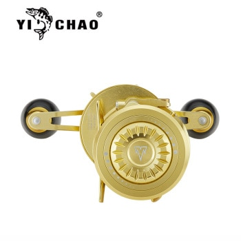 Mr.Charles New BMA3000 Gear Ratio 6:3:1Aluminum Front-end Fishing Left/Right Hand Fly Fishing Reel Raft Ice Fishing Reel