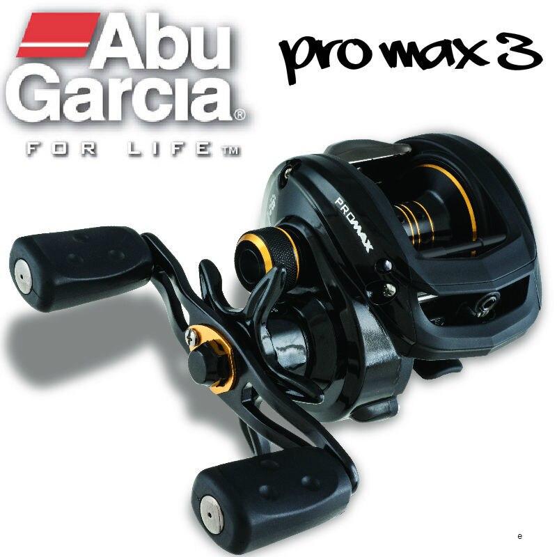 Abu Garcia-carrete de pesca de lanzamiento de cebo PRO MAX PMAX3, Original,...