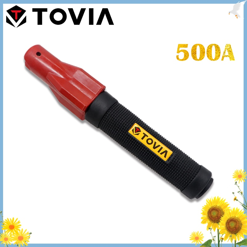 TOVIA 500A Electrode Holder  Welding Wire 1.0-4.0mm Welding Accessories Welding Clamp Professiona