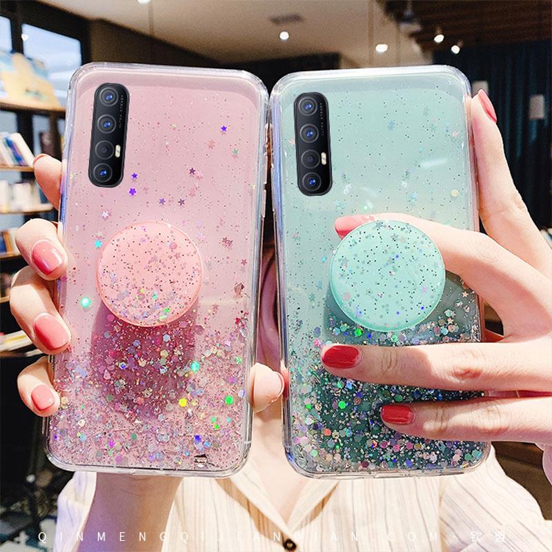 Glitter Bling Fall Für Samsung Galaxy A51 A71 A50 A10 A20 A30 A40 A6S A60 A70 A80 A90 A91 J4 j6 Plus J8 2018 Weiche Rückseitige Abdeckung