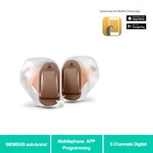Siemens Sub Marke Rexton Invisible ITC CIC 8 Kanäle Digital Hörgerät Handy APP Programm Fitting Dropshipping