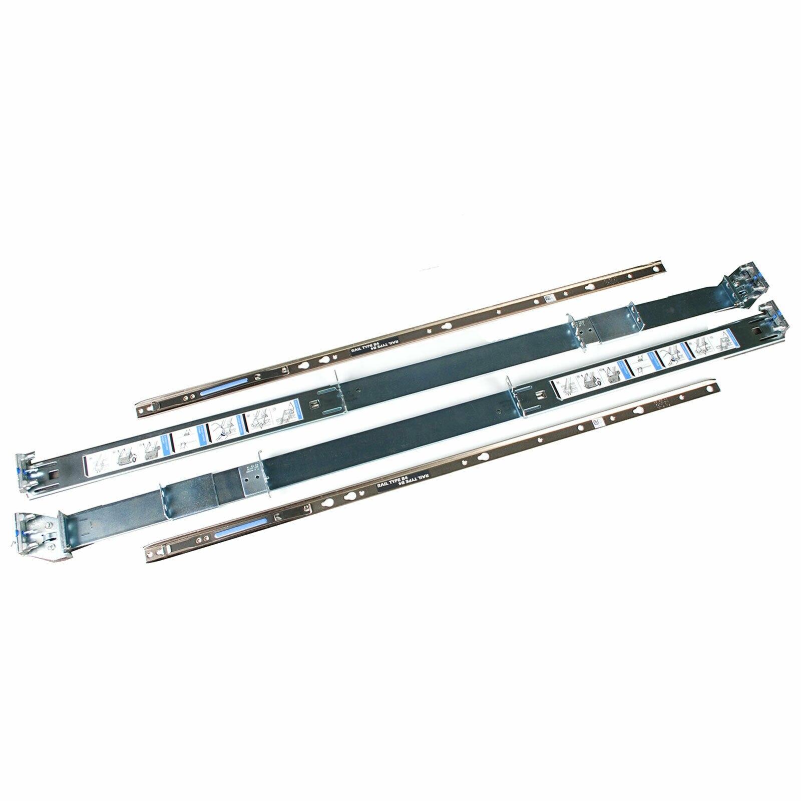 Para dell poweredge r520 r720 r730 r820 servidor 2u pronto trilho fino estático readyrails kit ferroviário