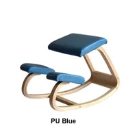 hot sale ergonomic kneeling chair rocking balancing wood knee stool for home orthopedic posture
