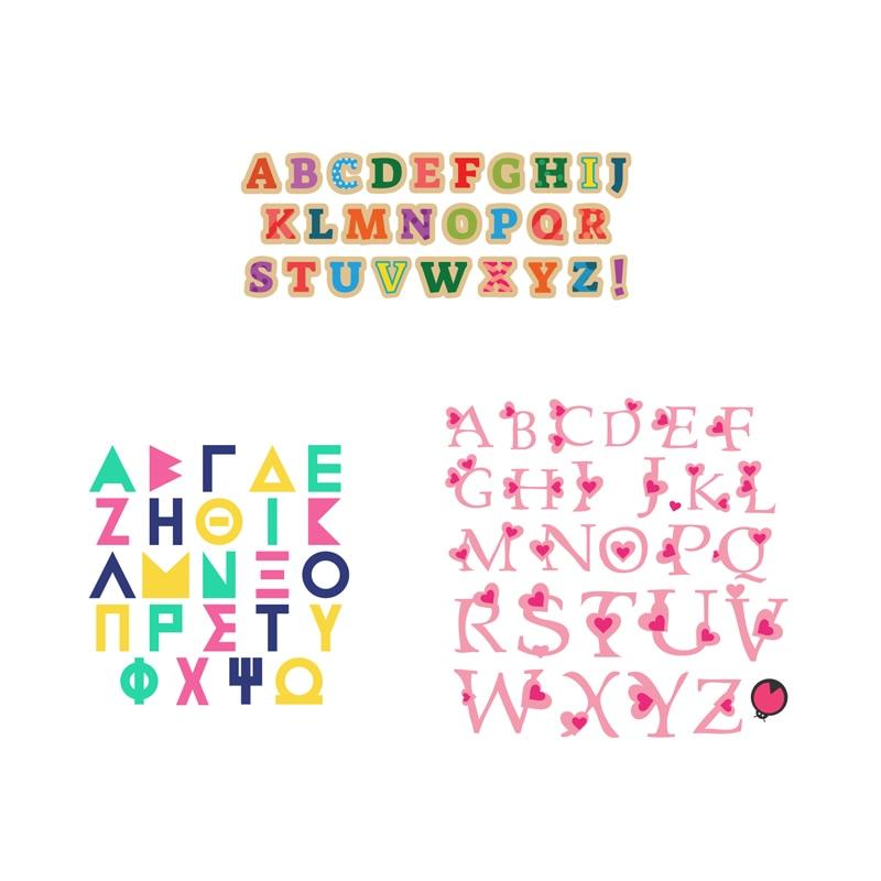 Metal steel frames Cutting Dies  Alphabet Letters Decoration  DIY Scrap booking Photo Album Embossing paper Cards 11.2*8.5cm
