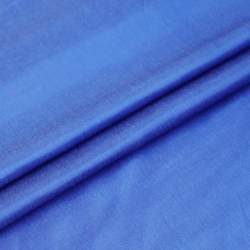 100cm*137cm heavy silk cotton fabric royal blue dress gown bedding textile natural