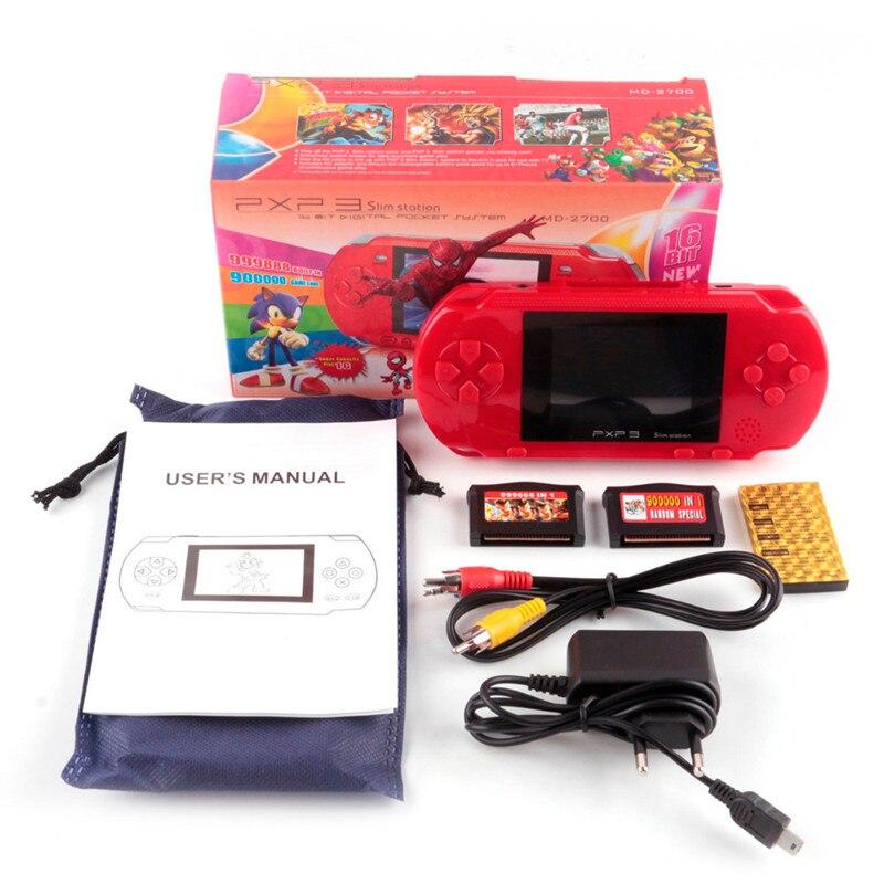 Consola de juegos portátil de 16 bits para niños, TV portátil, más...